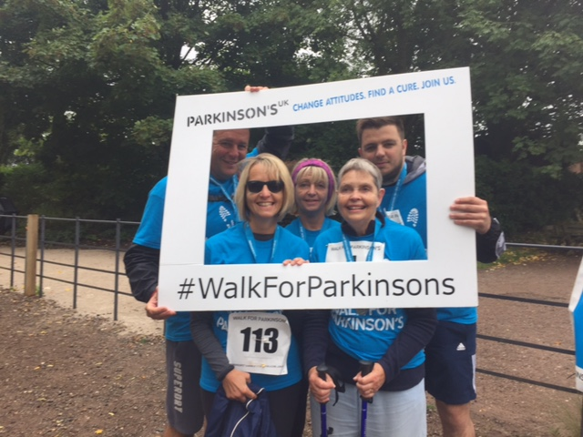 A Personal Best and £1000 raised for Parkinson's – Well done Margaret!