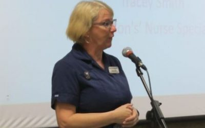 Parkinson's Nurse advocates positive thinking
