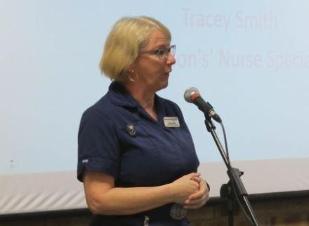 Parkinson's Nurse advocates positive thinking